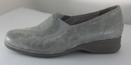 Slipper in Metall-Velour von Semler